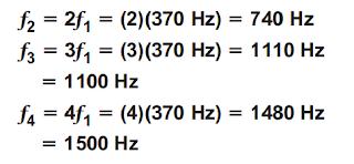 فيزياء2 مقررات -حل اسئلة المراجعة لدرس الرنين في الأعمدة الهوائية والأوتار – الصوت
