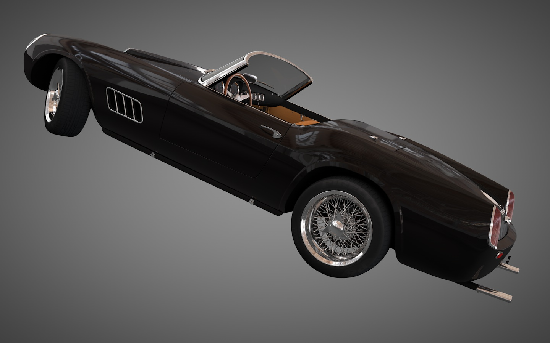 1960 Ferrari 250 Gt California Spyder Fadashada
