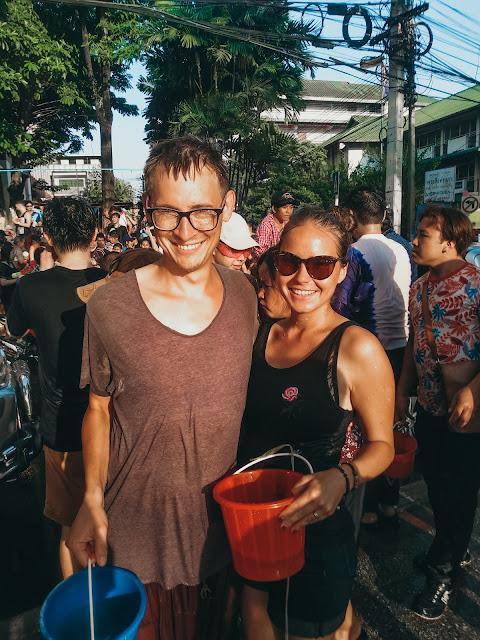Tajlandia | nowy rok | festiwal wody