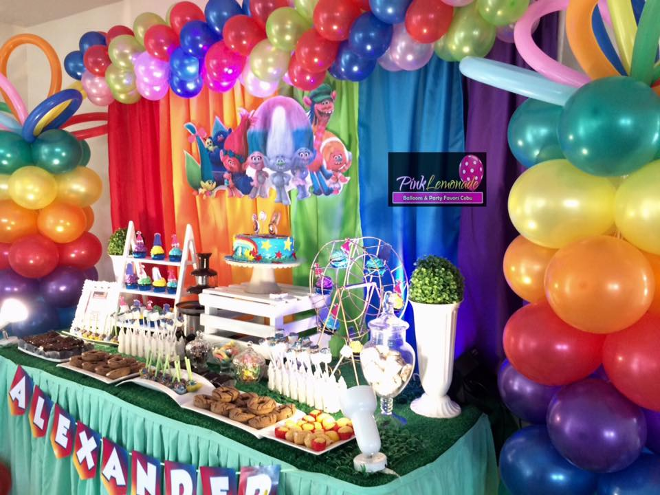 Pink Lemonade Balloons And Party Favors Cebu