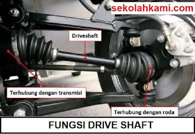 fungsi drive shaft