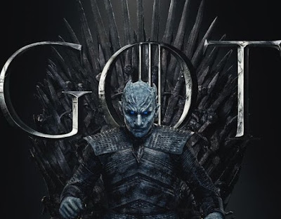Night king  sit iron throne game of thrones