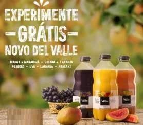 Cadastrar Promoção Novo Del Valle Grátis Experimentar - Reembolso Valor