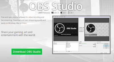 Download dan instal OBS Studio