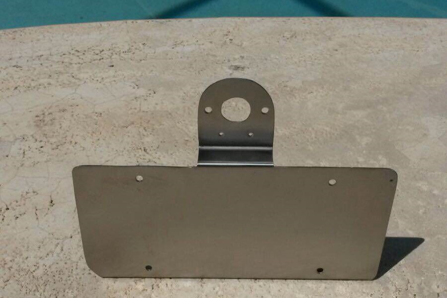 Stainless Steel License Plate Bracket For Trailers