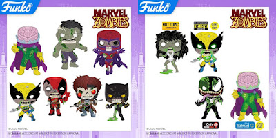 Marvel Zombies Pop! Vinyl Figures by Funko