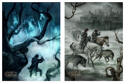 MondoCon 2019 Exclusive Game of Thrones Prints by Jonathan Burton