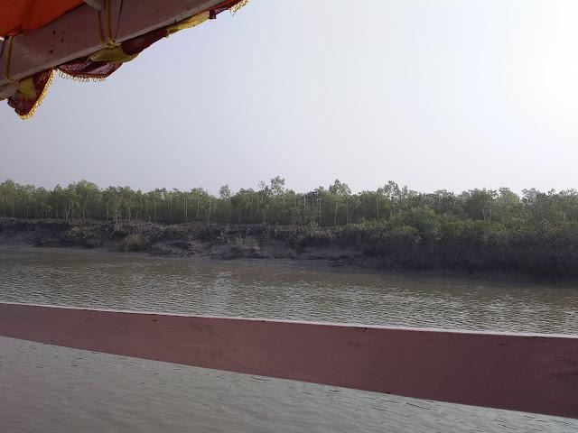 On the boat in Sundarban