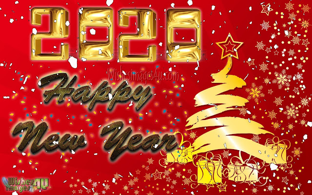 Happy New Year 2020 Golden Backgrounds Download Free - New Year 2020 Golden HD Backgrounds Download For Desktop