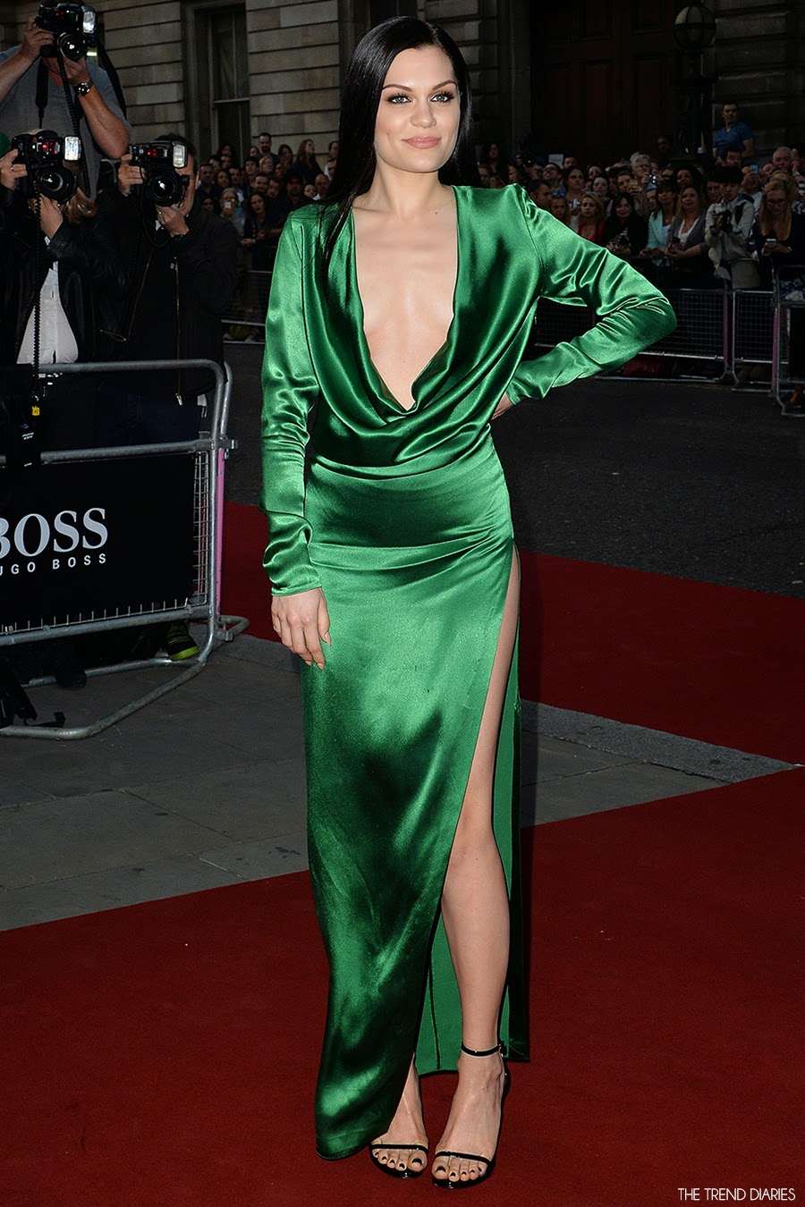 Jessie J at the GQ Men Of The Year Awards at Royal Opera ...