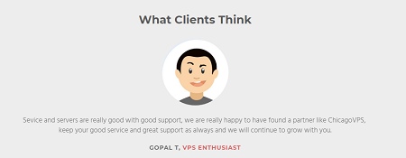Clients, Opinion, ChicagoVPS