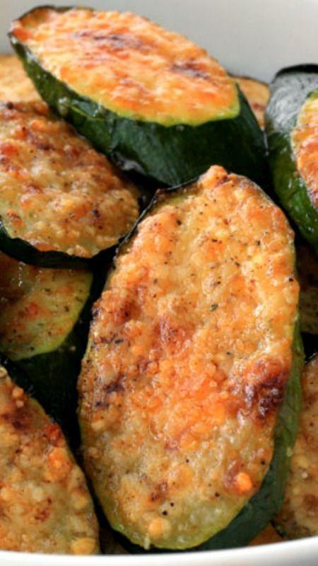 Best Parmesan Zucchini Bites