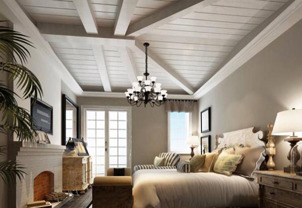 Modern bedroom 3D model free 3ds max