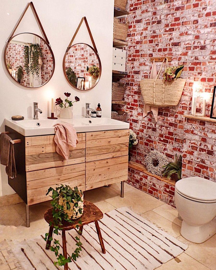 wystrój wnętrz, wnętrza, urządzanie domu, dekoracje wnętrz, aranżacja wnętrz, inspiracje wnętrz,interior design , dom i wnętrze, aranżacja mieszkania, modne wnętrza, boho, boho style, styl skandynawski, scandinavian style, styl eklektyczny, łazienka, bathroom
