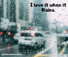 Rain Captions  Instagram