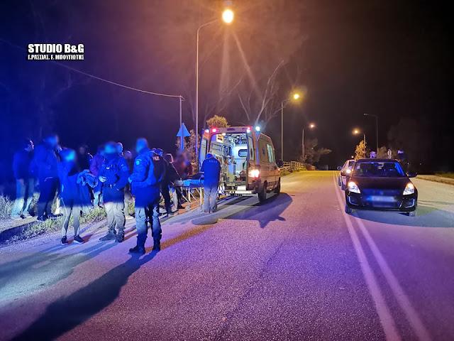 Αργολίδα: Σύγκρουση αυτοκινήτων στη Νέα Κίο