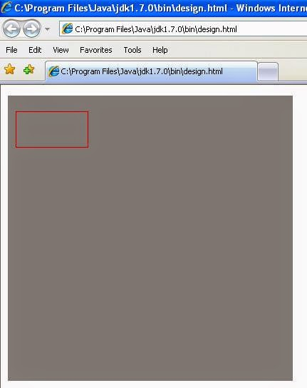 How to draw rectangle in applet