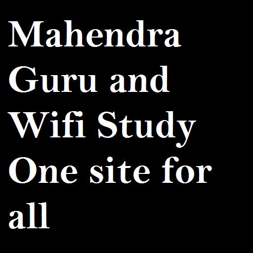 MahendraGuru-Wifistudy