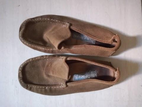 Meu sapato de palestra