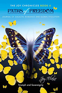 Paths of Freedom: Journal of Galactic Romance and Global Evolution, non-fiction kindle book promotion by Joy Elaine