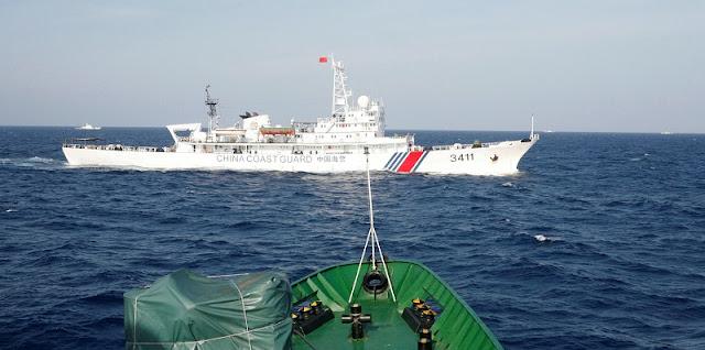 China Beri Coast Guard Kewenangan Untuk Tembak Kapal Asing Hingga Lakukan Serangan