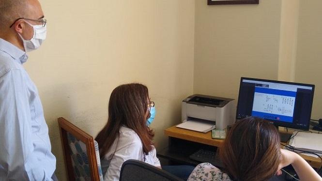Se capacitó a personal de salud en el uso de los nuevos test rápidos de COVID-19