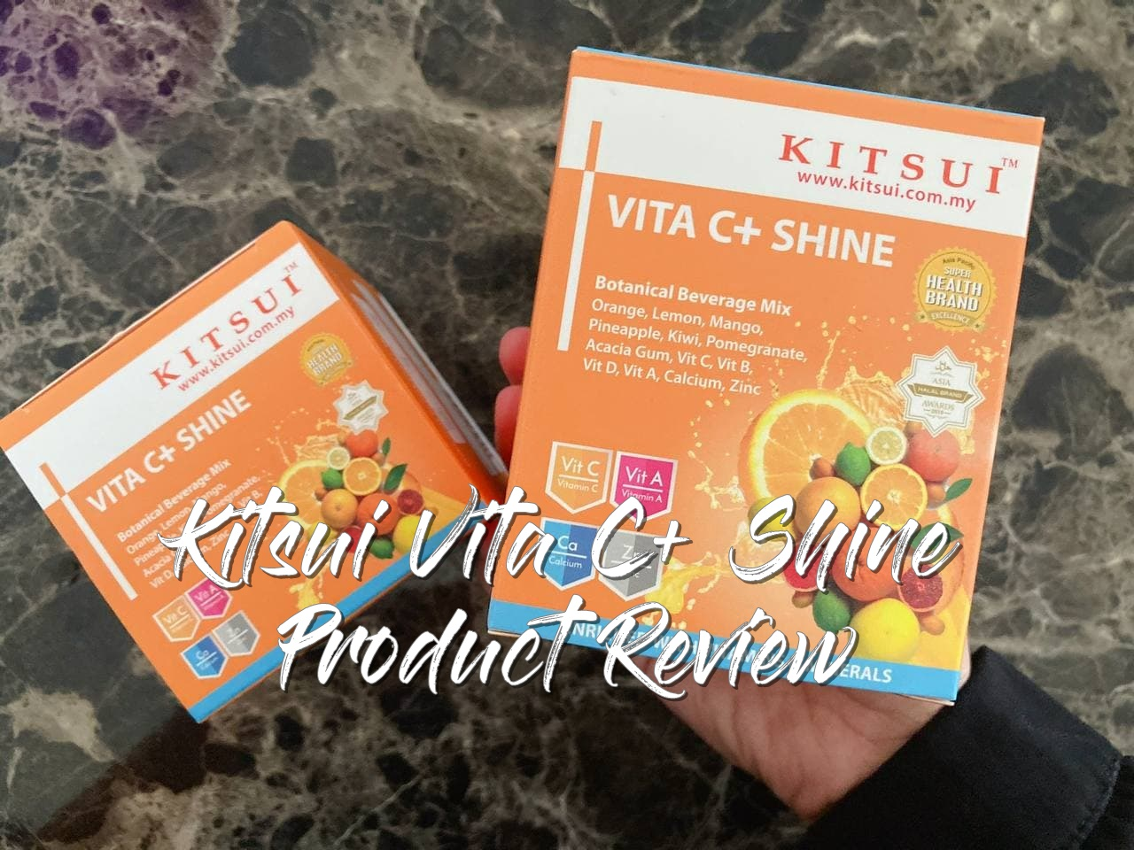 Kitsui Vitamin C Shine Product Review!