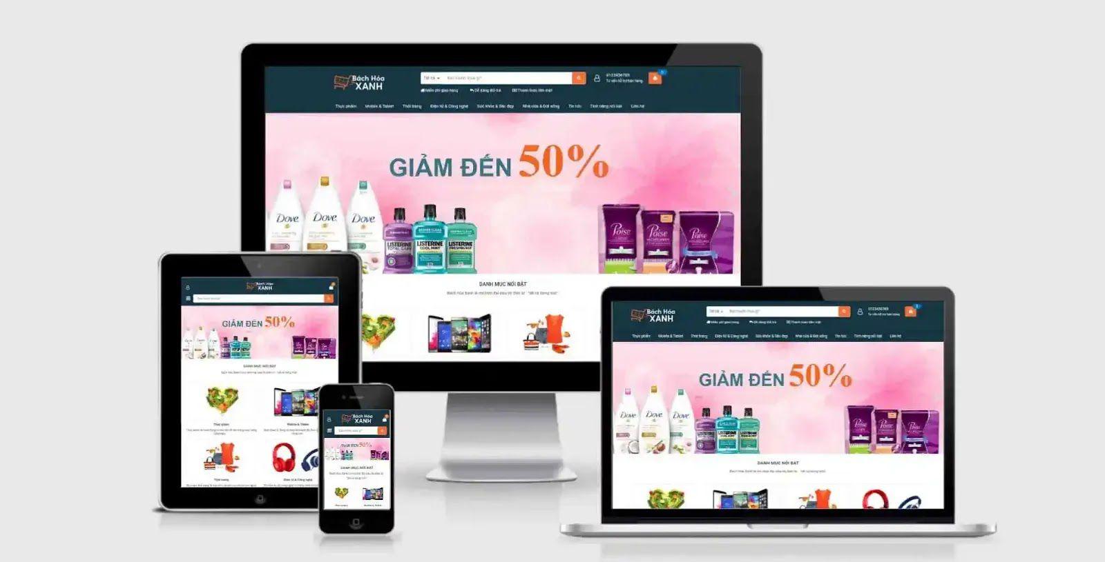 Free Souq Store Premium Ecommerce Template Blogger