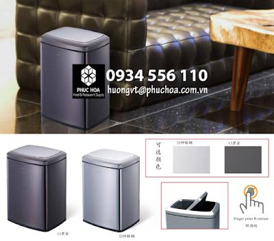 Thùng rác trong phòng khách sạn - mẫu mới cao cấp 2020