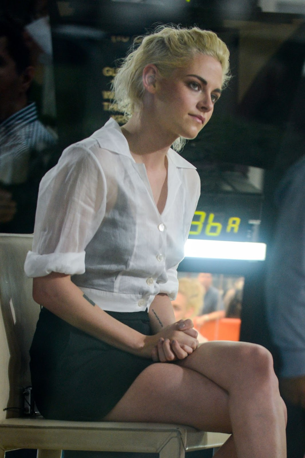 Kristen Stewart on the Set of 'The Today Show'