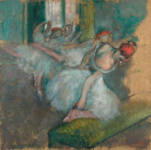 Эдгар Дега - Балерины (1890-1900)