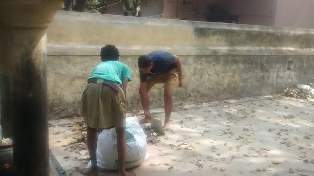 RSS Chennai Unit in Seva activity