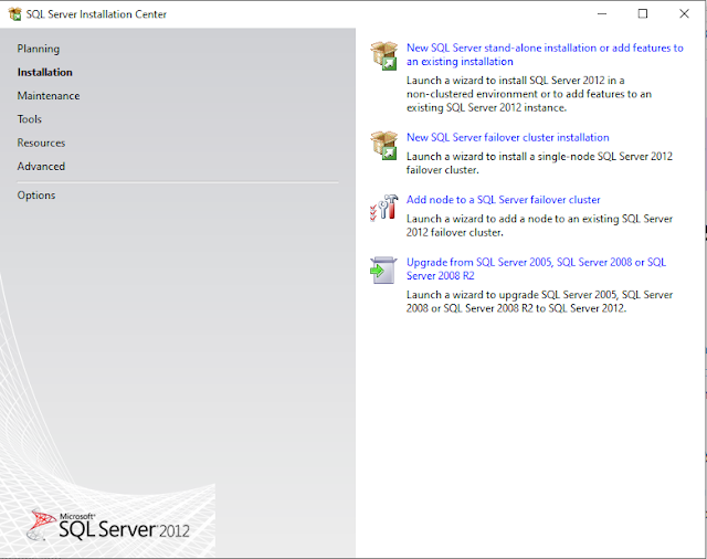 Step by Step Installasi SQL Server 2012