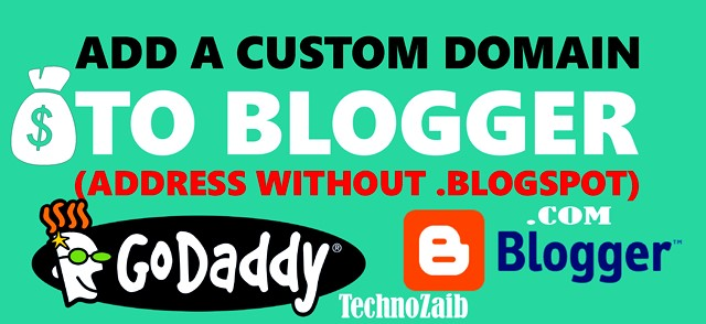 (Godaddy) Add a custom domain to Blogger (address without .blogspot)
