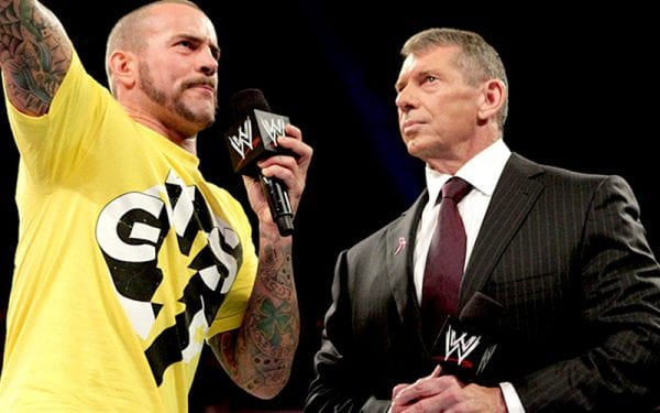 فينس مكمان يفكر في إعادة سي ام بانك إلى WWE فقط في هذه الحالة