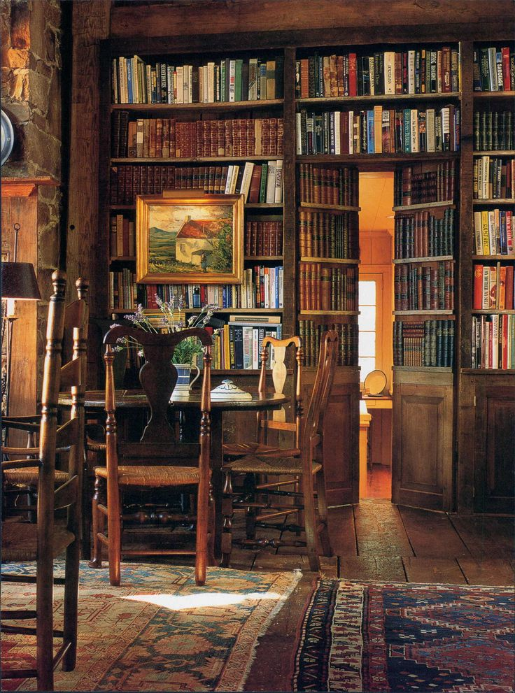 Home Library Room: Lunch & Latte: Inspiration: Library Rooms