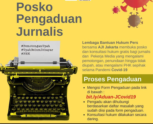 AJI Jakarta dan LBH Pers Terima 52 Pengaduan Terkait Pelanggaran Pembayaran THR
