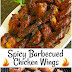 SPICY BARBECUED CHICKEN WINGS