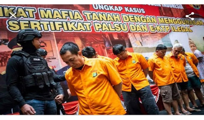 DPD LSM Penjara Provinsi Banten Dukung Pemerintah Berantas Mafia Tanah