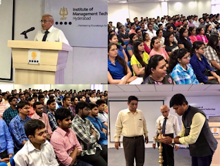 IMT-Hyderabad class 2019 breaks record in gender diversity with highest number of girl students. Corporate connect starts from Day 1.