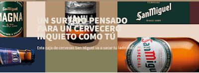 San Miguel sortea 40 packs de cervezas