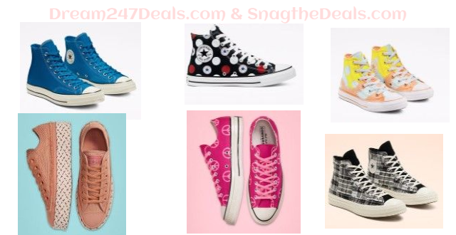 CONVERSE 40% OFF SELECT STYLES