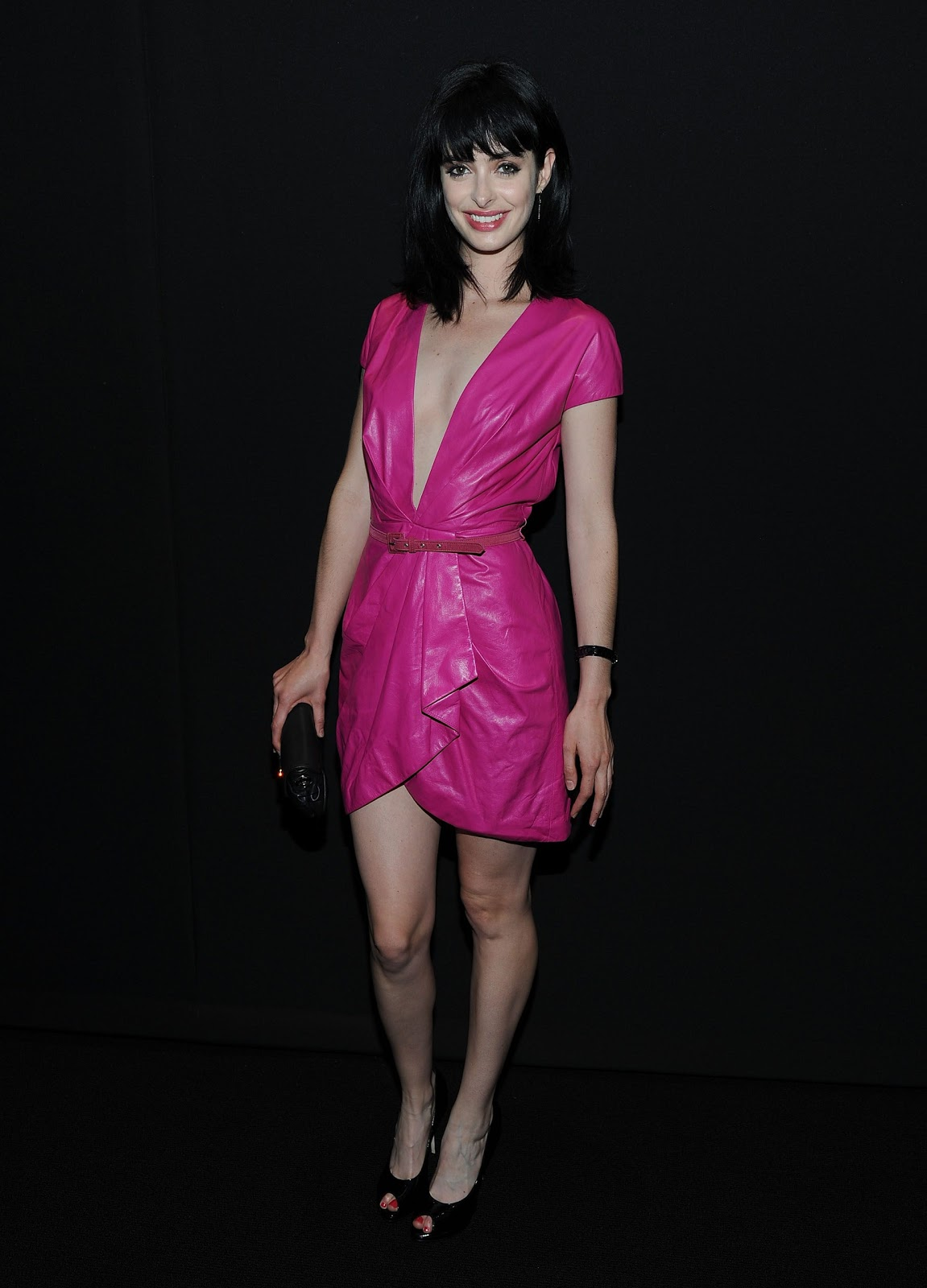 Krysten Ritter at the launch of DIOR VIII - Sexy Leg Cross