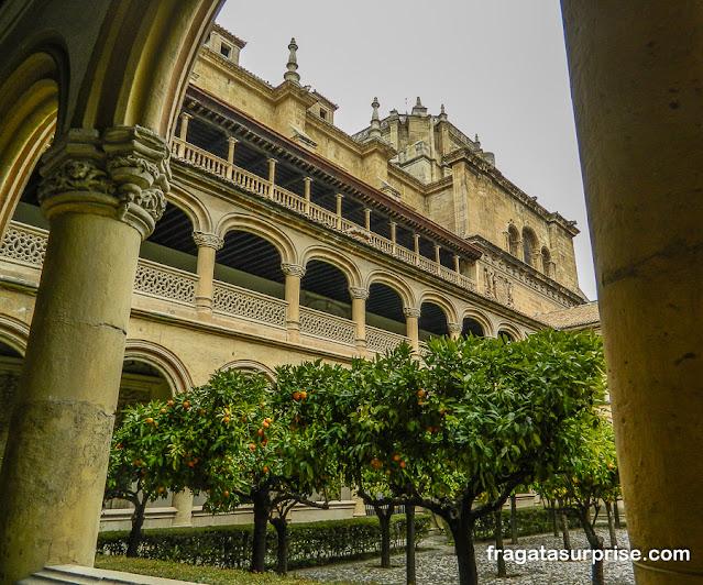 Claustro do Mosteiro de San Jerónimo, Granada