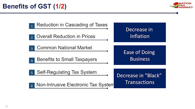 gst benefits_decrease in inflation_benefits to small taxpayers