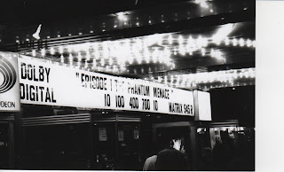 Star Wars Phantom Menace Rick Sincere Uptown Theatre marquee 1999