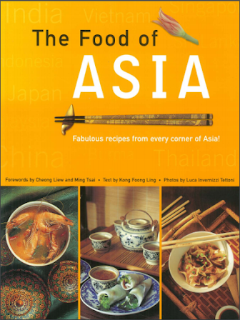 The food of Asia-Recipe of Asian food In Pdf