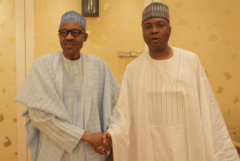 Forgery case: Buhari wants my downfall - Saraki barks