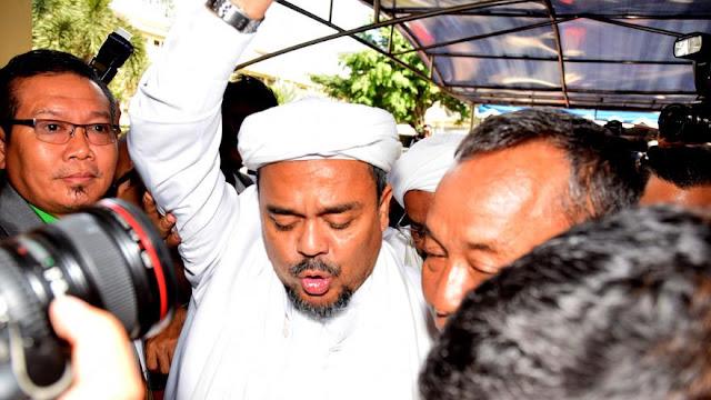 Terkait Berkas Perkara Ahok, Rizieq Shihab Hadiri Panggilan Kejagung
