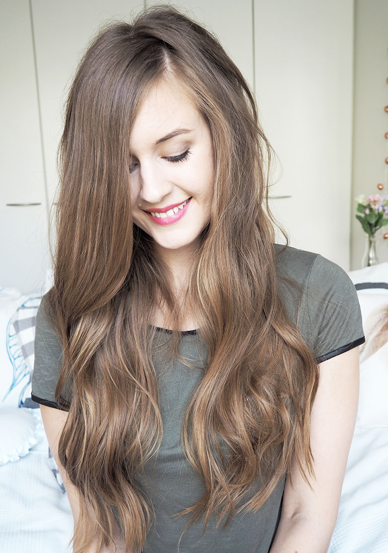 loose wavy curls | wellemma